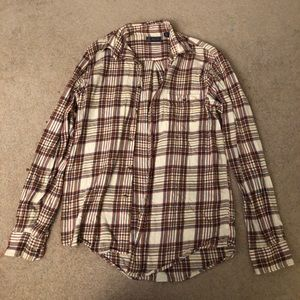 Men's small flannel